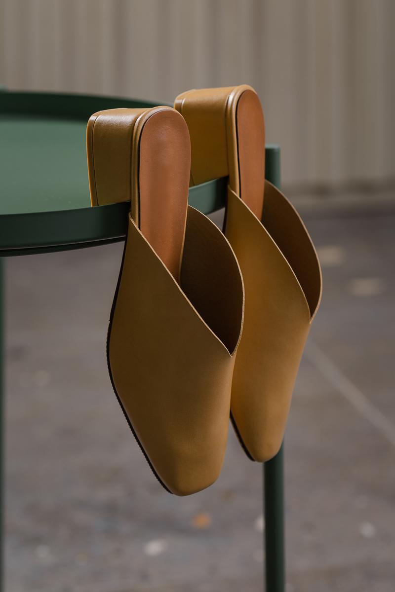 Slip On Mules (Tan) | WARDROBEMESS